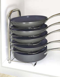 BTH Height Adjustable Pot Pan Organizer