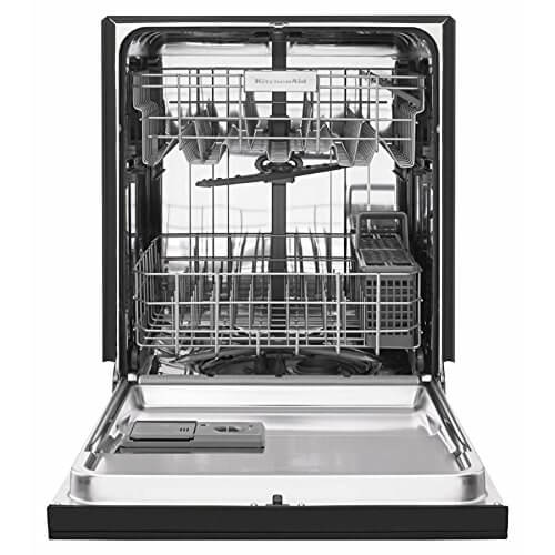Kitchenaid Dishwasher Front Control In Stainless Steel