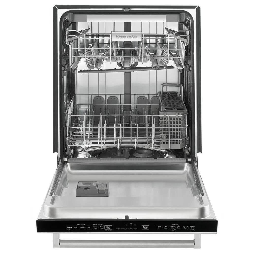 Kitchen Aid KDTE254ESS 39dB Stainless Dishwasher with Stainless Tub