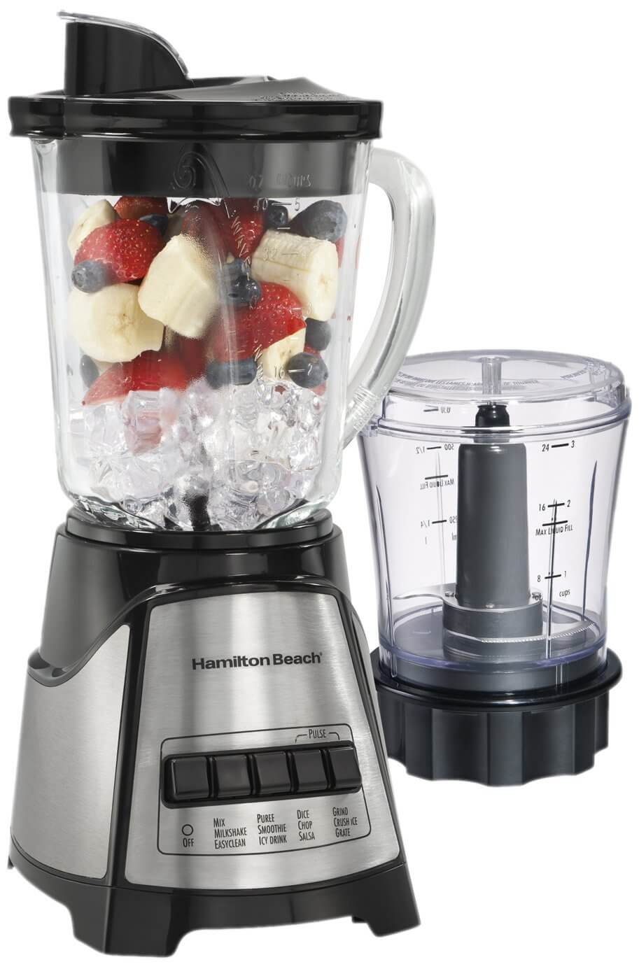 Hamilton Beach Power Elite Multi-Function Food Processor
