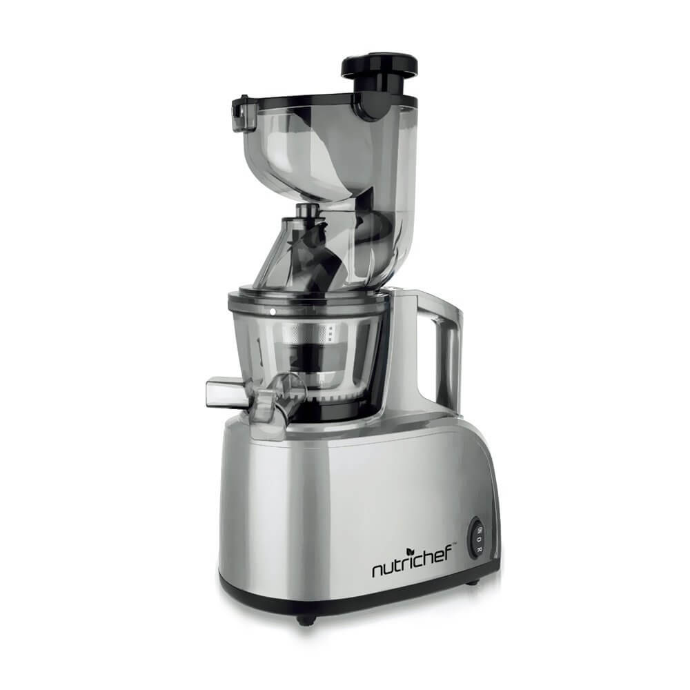 NutriChef PKSJ40 Countertop Masticating Slow Juicer